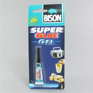Bison Super Glue Gel