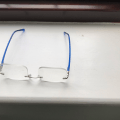Blue Baron Snooker Glasses
