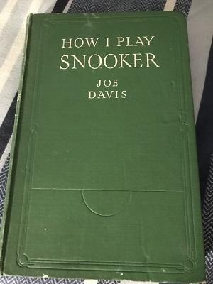 JoeDavisHowIPlaySnooker
